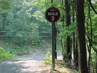 L&NE Mile marker